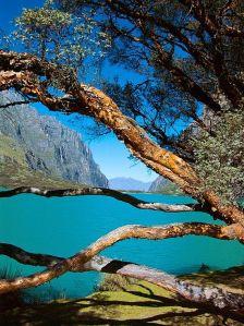 laguna de llanganuco - huaraz