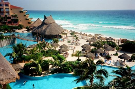 Cancun-praia-turística