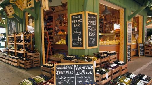 Viktualienmarkt-Feira-Gastronomia-em-Munique