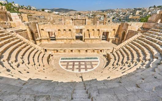 The theatre, Ancient Roman city of Jerash